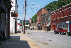 Witnesses driving through the small town of Sutton, WV, reported watching a fireball-looking UFO that appeared to move intelligently on March 2, 2014. (Credit: Wikimedia Commons)