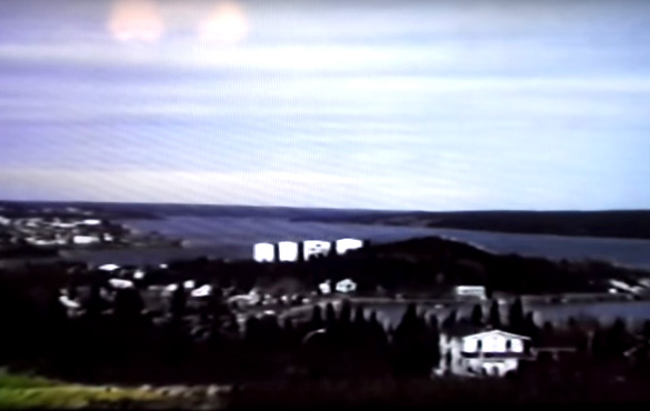 Area of sighting from 1978 video. (Credit: Jim Blackwood/YouTube)