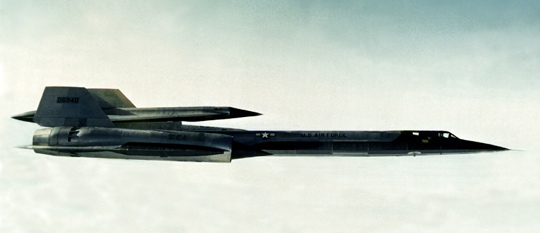 """M-21 """"Mothership"""" with D-21 drone on top. (image credit: USAF)"""