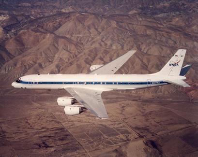 Figure 2: NASA DC-8-72 aircraft.