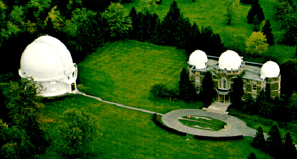 The ground of the David Dunlap Observatory.