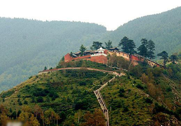 Dai Luoding Temple. (Credit: wangchao.net.cn)