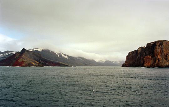 View of Deception Island (image credit: Jerzy Strzelecki)