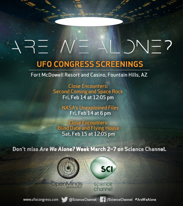 Discovery Network Alien Shows