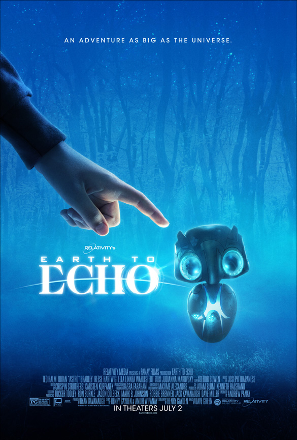 Earth to Echo movie poster. (Credit: Relativity)