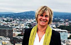 Aftenposten's editor-in-chief, Hilde Haugsgjerd (Aftenposten)