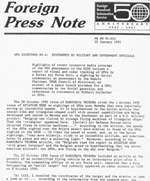 FBIS Foreign Press Note (Click to enlarge)