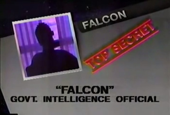 """""""Falcon"""" on UFO Cover-Up Live!"""