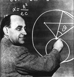 Physicist Enrico Fermi