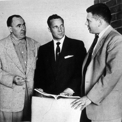 From left: Fournet, Chop, and Ruppelt.