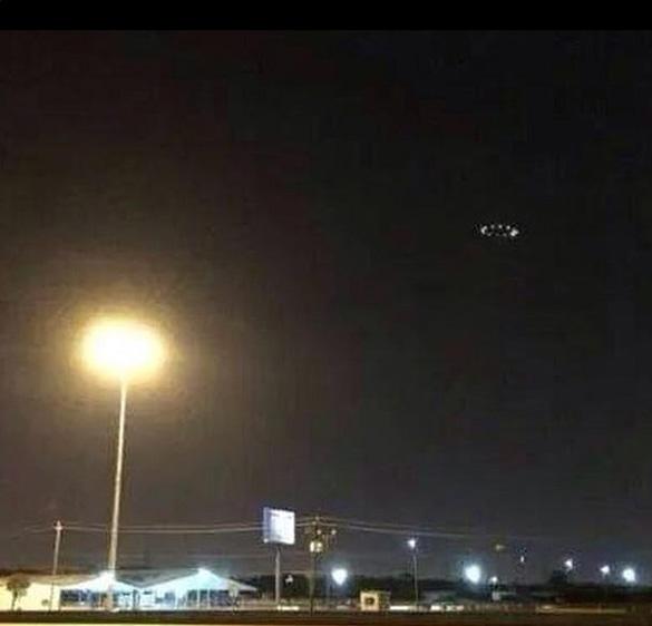 Second UFO picture posted by DJ Nayyz. (Credit: DJ Nayyz)
