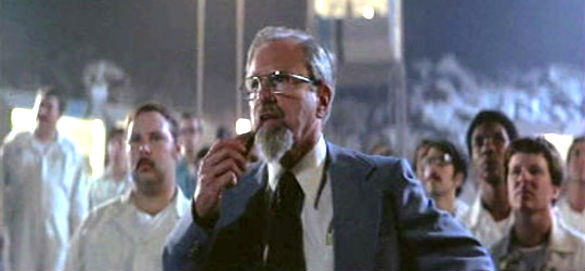 J. Allen Hynek's can be seen in a scene towards the end of the Close Encounters movie.