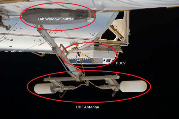 Image credit: ISS / NASA, with annotations by Sam Treadgold.