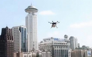 Incake Bakery delivery drone. (Credit: South China Morning Post)