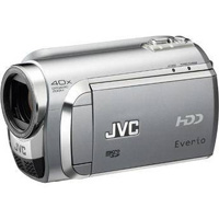 A JVC Everio camera like the one used to record these videos.