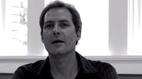 James Allen from a screen shot of his Kickstarter video seeking crowd sourcing funding for his movie. (Credit: James Allen)