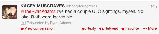 Kacey Musgraves twitter