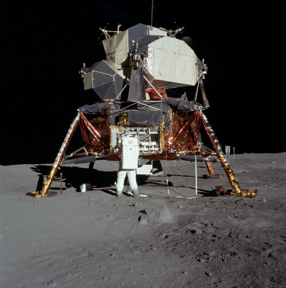 Lunar Excursion Module (LEM). (Credit: NASA)