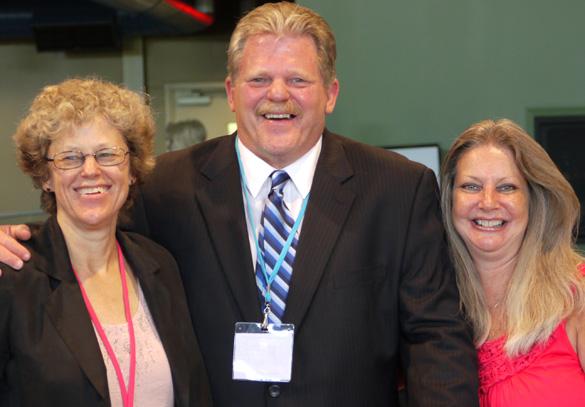 Leslie Kean, Ken and Patty Senter