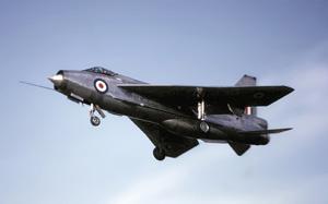 RAF Lightning fighter jet