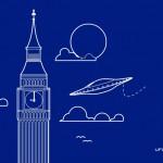 London UFO Museum postcard