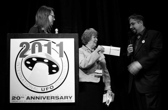 From left: Maureen Elsberry, JK Scott, Alejandro Rojas (image credit: Peter Beste)