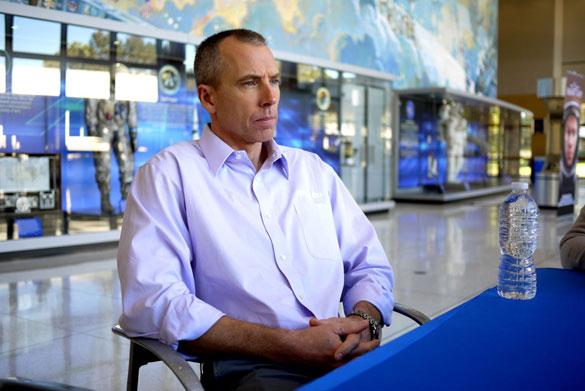 NASA Astronaut Dr. Drew Feustel at Johnson Space Center, December 3, 2015. (Credit: Alejandro Rojas)