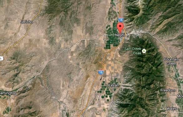 Nephi satellite image. (Credit: Google Earth)