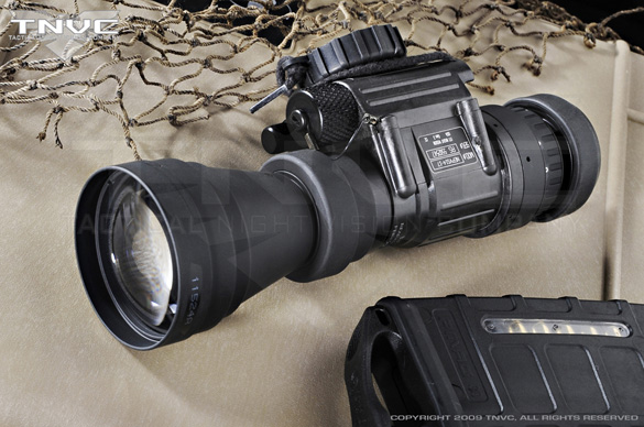 PVS-14 with 3X Magnifier. (Credit: Tactical night Vision Company)
