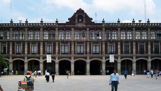The Governor's Palace in Cuernavaca, Mexico.