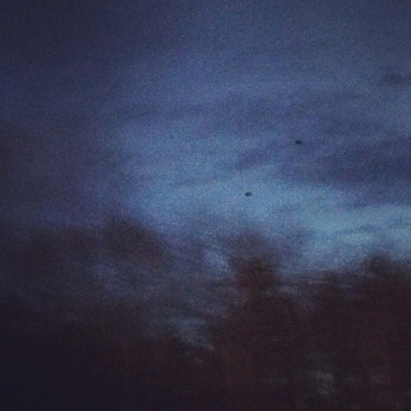 Rhode Island UFO Picture Zoomed-In. Credit: MUFON