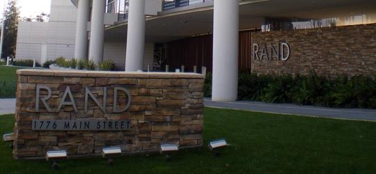 RAND Corpartion Headquarters in Santa Mocia, CA.