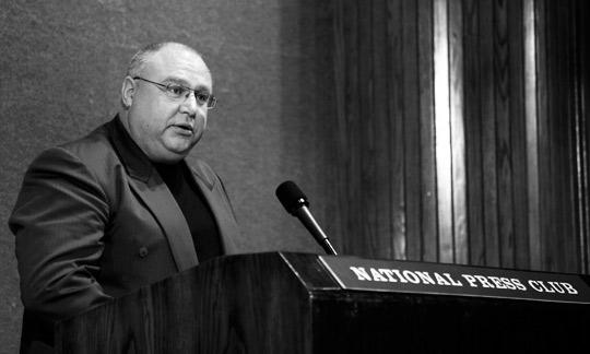 Ray Bowyer at National Press Club