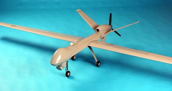 Remote controlled UAV airplane. (Credit: NitroPlanes)