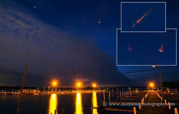 UFO photo posted by Montanus. (Credit: Jim Montanus/Montanus Photography)