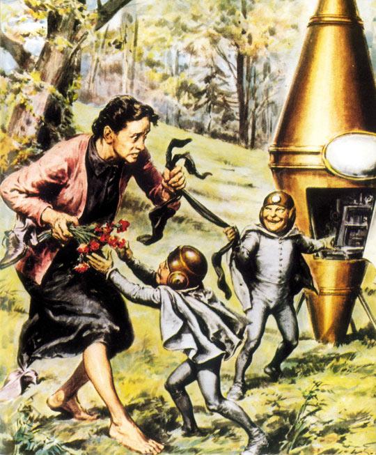 Rosa-Lotti-Dainelli UFO and Creatures