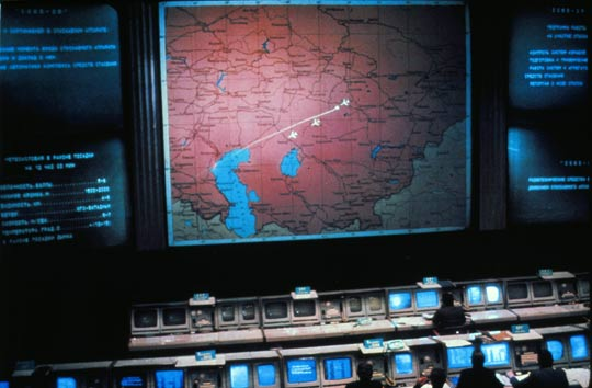 Russian Space Program Mission Control