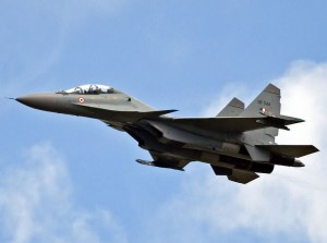 An IAF Su-30MKI fighter jet. (Credit: g4sp)