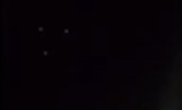 Screenshot from San Diego UFO video. (Credit: Twitter/@BIGkidGeorgie)