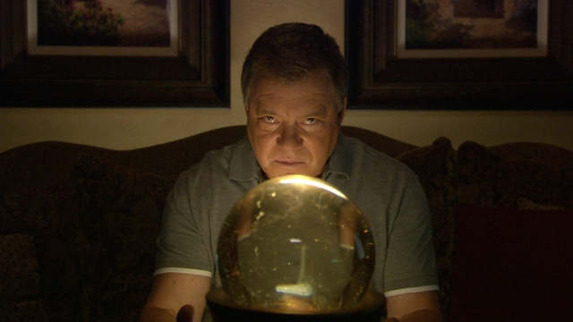 Shatner on Weird or What. (Credit: SyFy)