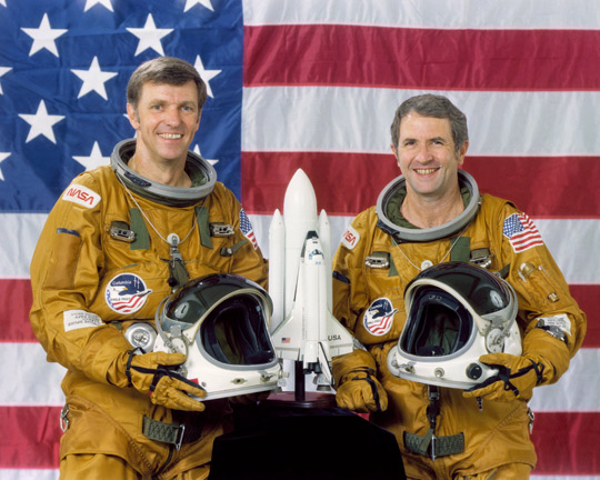 The STS-2 Crew, Engle and Truly. (image credit: NASA)