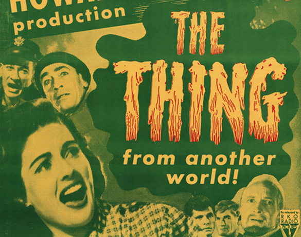 The movie The Thing From Another World came out in 1951, but may have been the inspiration for the name for the Warminster phenomenon.