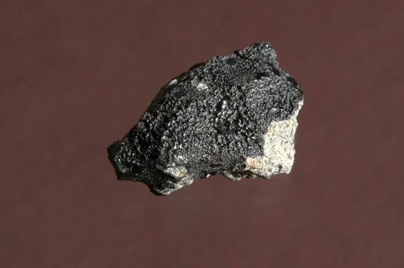 A piece of the Tissint meteorite that landed on Earth on July 18th, 2011. Credit: EPFL/Alain Herzog