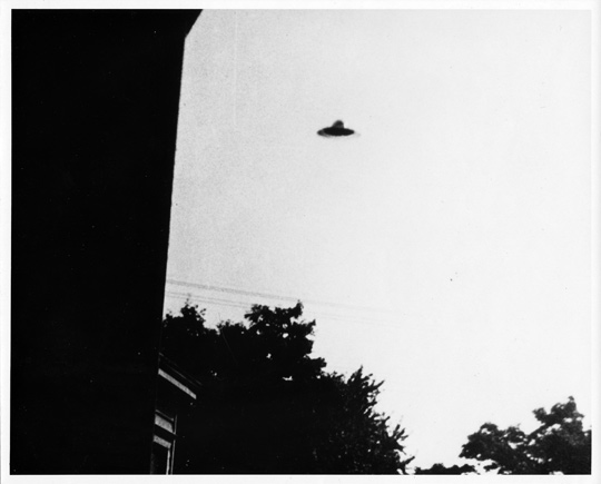 UFO photographed by Stock (sequence unknown). (image credit: George Stock)