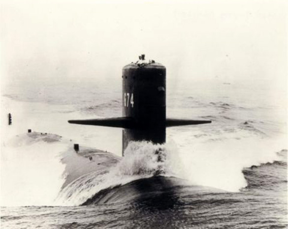 Image of the USS Trepang (Credit: Hullnumber.com)