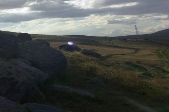UFO photo from Van Lake area. (Credit: Ahmet Baygümüş/GaziantepHaberler.com)