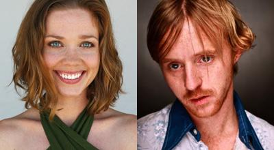 Abductee's leading actors, Virginia Newcomb and Dusty Sorg. (Credit: SAG, IMDb/Joshua Nitschke/Erik Reese)
