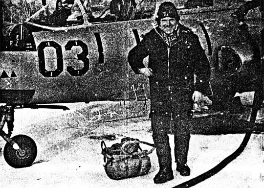 UFO witness Vladimir Kuzmin in Chelabinsk.