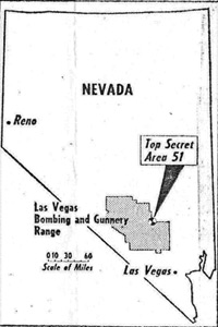 Map from the Weekly World News, 1980.
