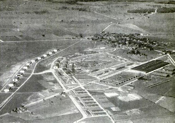 The witness was told in 1960 that the stories of crashed UFO parts from Roswell were true. Pictured: Wilbur Wright Field and Fairfield Air Depot, c. 1920. (Credit: Wikimedia Commons)